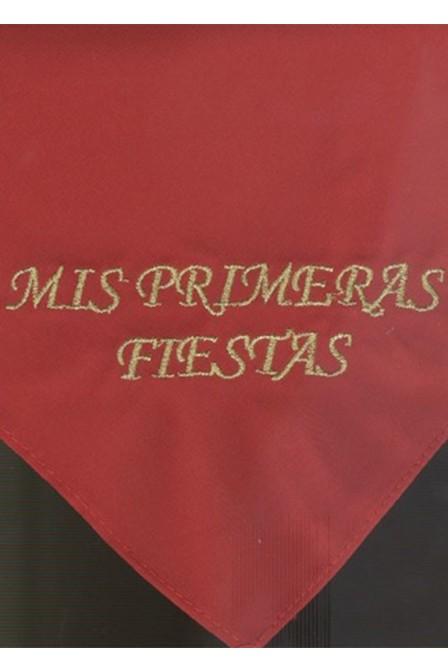 TRIANGULO 35 X 35 MIS PRIMERAS FIESTAS