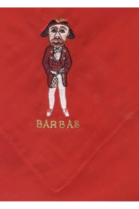 PAÑUELO 40 X 40 BARBAS