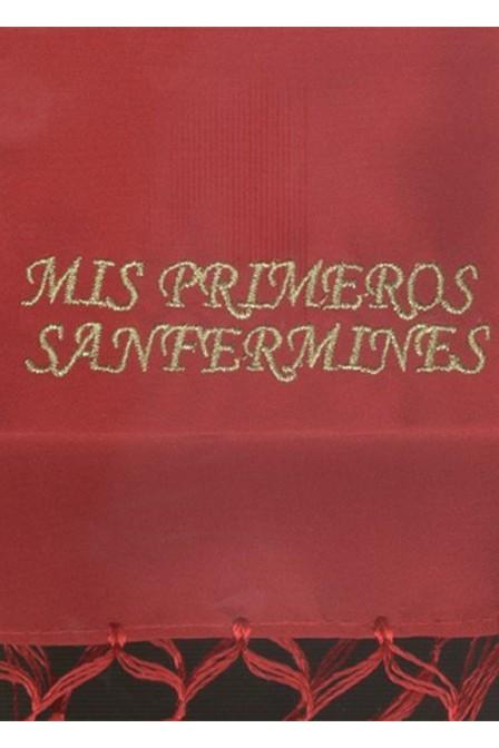 FAJA NIÑO MIS PRIMEROS SAN FERMINES
