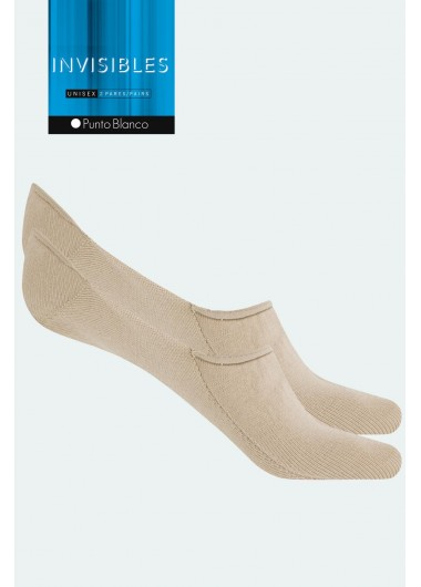 PUNTO BLANCO PACK 2 PARES DE CALCETINES INVISIBLES- 11441-00